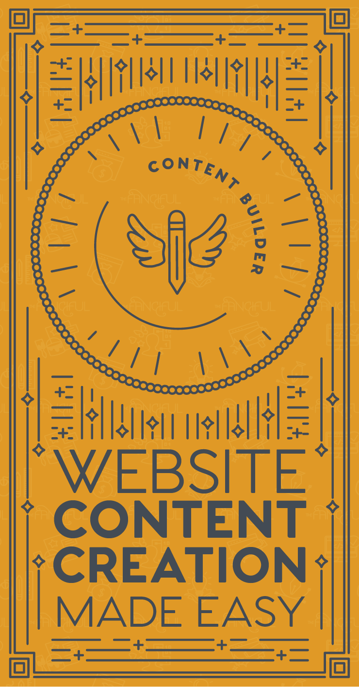 Website content made easy